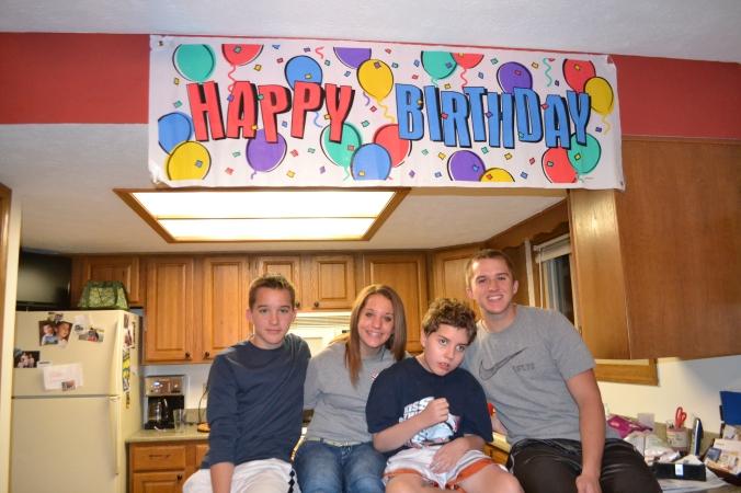 love my sweet kids - Trevor 13, Sidney 15, Ryan 11, Brad 16